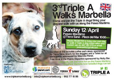 Triple A Walks Marbella 2015