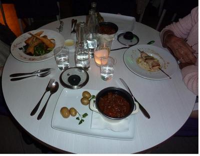 Dinner at Umami
