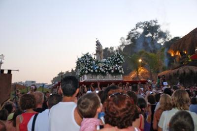 Virgen del Carmen parade in San Pedro de Alcántara