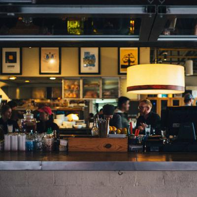 Waiter or barista