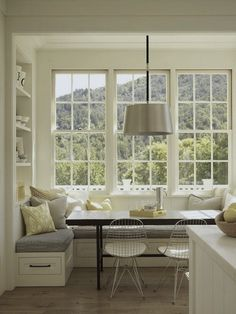 Kitchen window bench