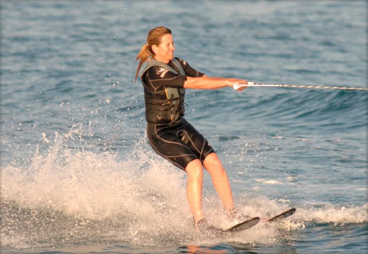 Water skiing in Marbella