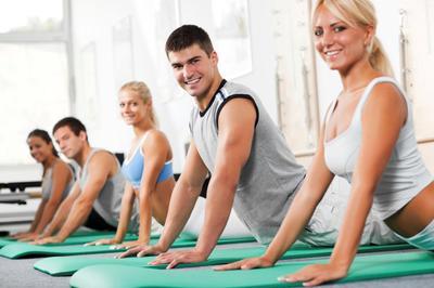 Pilates in the Wellness Studio