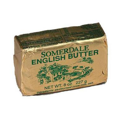 English butter