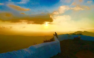 casares sunset