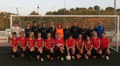 Studs and Stilettos Ladies FC squad