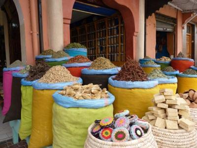 Spices at the souk