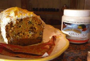 Advantage Formula 5 Carrot Cake Recipe