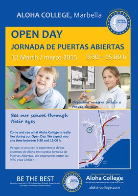 Aloha College Open Day 2015