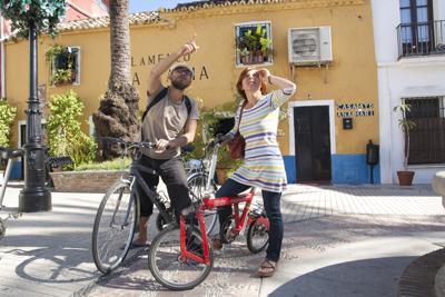 Bike Tours Marbella in Marina Marbella