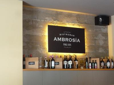 Bistrobar Ambrosia decor