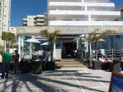 Boardwalk in Marbella