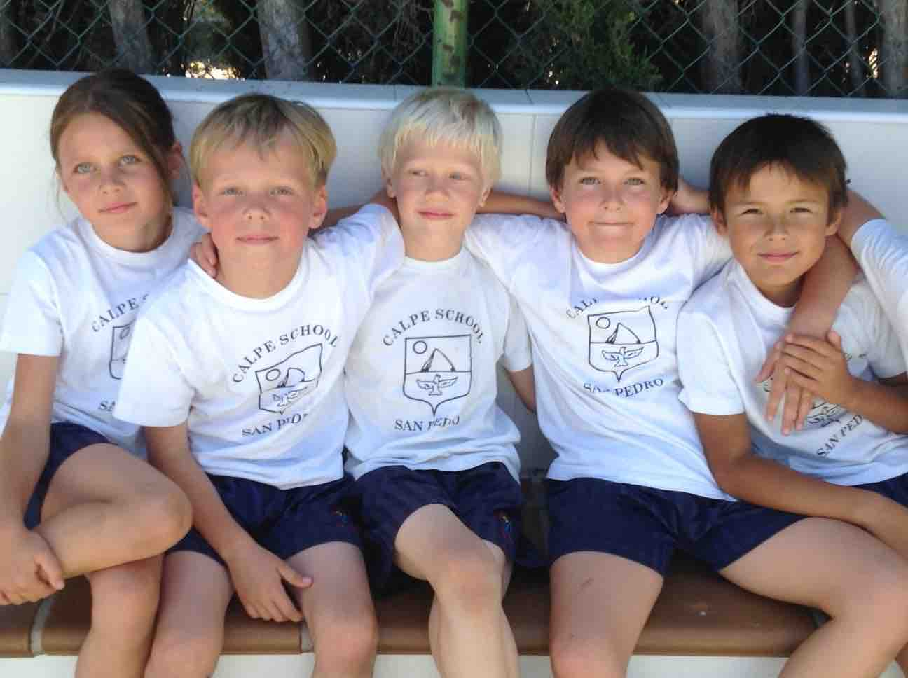Happy Kids at Calpe School in Marbella