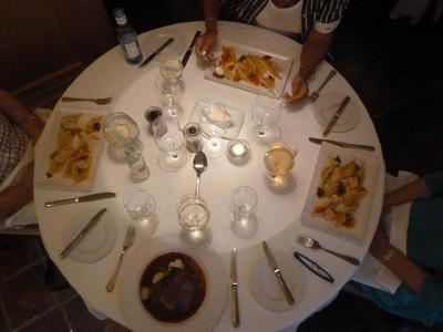 Our Mains at Carisma in Marbella