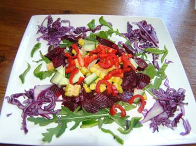 lovely summer salad