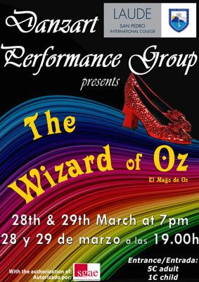 Danzart Wizard of Oz musical