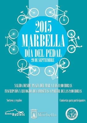 Dia del Pedal Marbella 2015