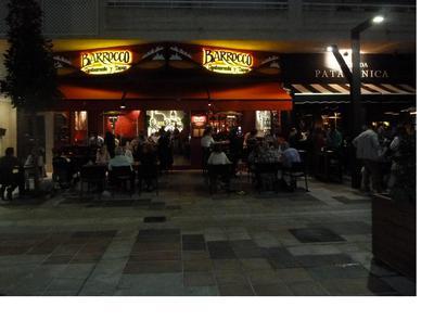 Barrocco restaurant by night