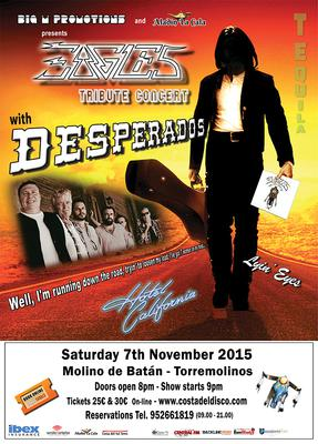 Eagles Tribute Band - 7 November 2015