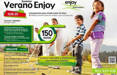 Enjoy Golf Academy Kids Summer Camp
