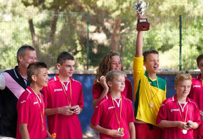 Football camp in Marbella
