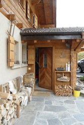 Swiss chalet house swap