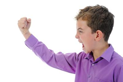Anger influences child behaviour
