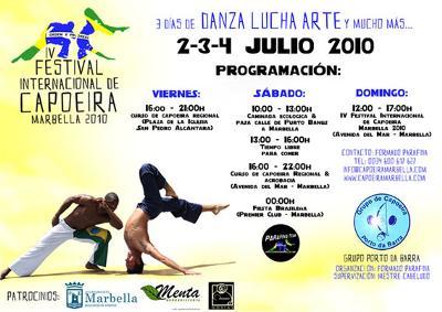 IV International Capoeira Festival Marbella 2010