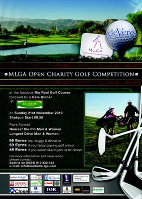 Marbella Ladies Golf Association charity golf tournament