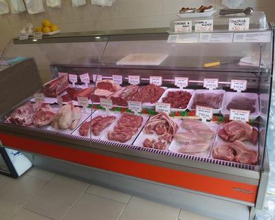 A wide range of meat cuts