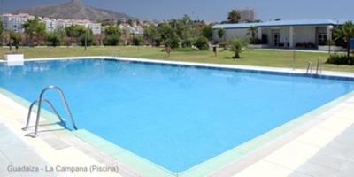Guadaiza pool Nueva Andalucia
