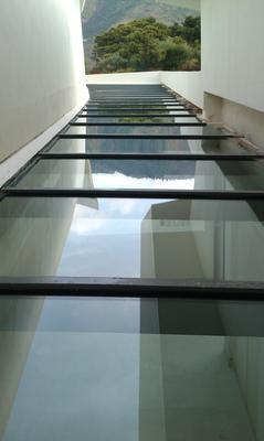 dificult glass roof
