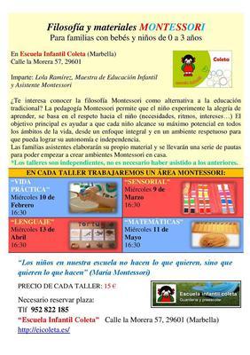 Montessori program