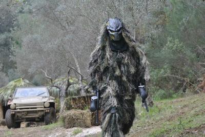 Predator at Paintball Marbella