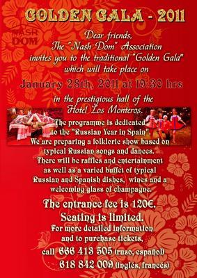 Russian Golden Gala in Marbella