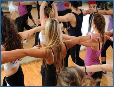 Salsa Workout at Centro Sanum
