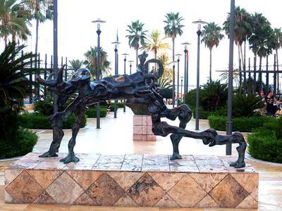 Salvador Dali Sculptures Marbella