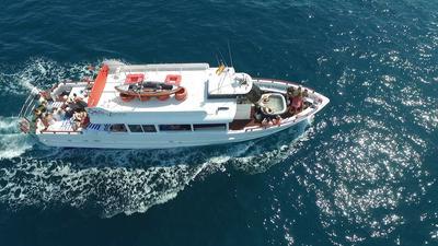 Birthday celebration boat charter malaga