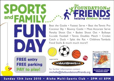 Sports and Family Fun Day
