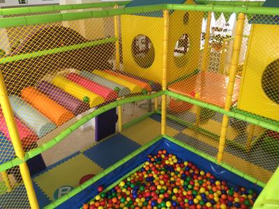 Play area at Seta Magica