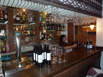 Tempora the Bar area