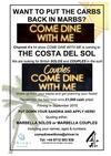 Come Dine with Me Marbella