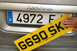 Vehicle Matriculation in Spain